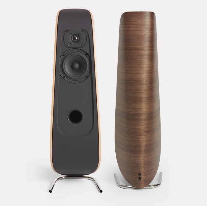The Davone Moxie loudspeaker, beautiful danish design